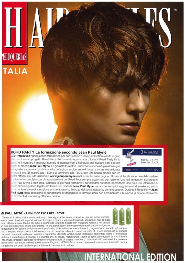 Hairstyle il trattamento per capelli anticrespo evolution pro
