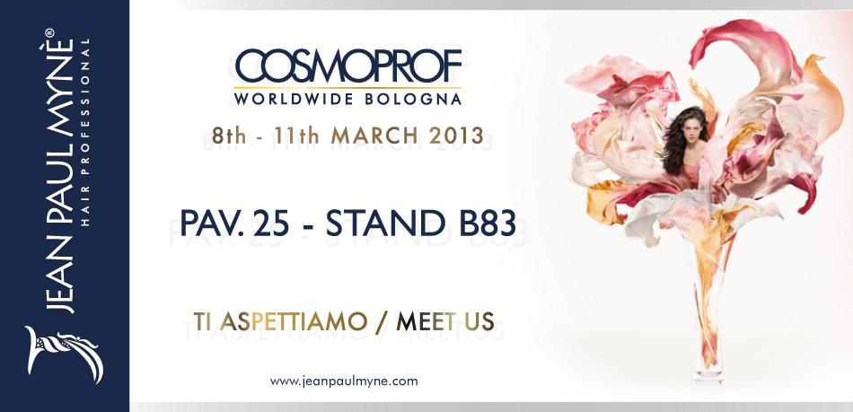 Cosmoprof 2013 con Jean Paul Mynè