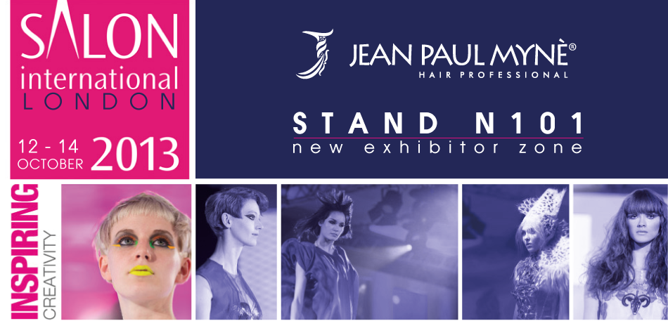 Jean Paul Mynè at SALON INTERNATIONAL LONDON 2013