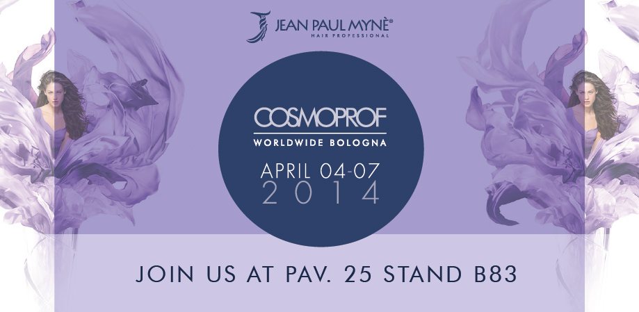 Jean Paul Mynè at Cosmoprof 2014