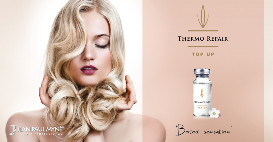 Recharge your hair with Thermo Repair TOP UP