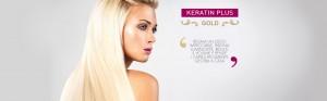 trattamento lisciante keratin plus gold