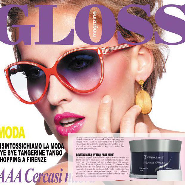 GLOSS linea personal care - shampoo e balsamo delicati per capelli lisci perfetti