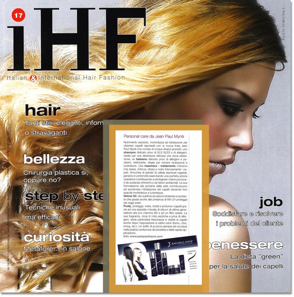 Ihf - la linea personal care shampoo e balsamo per capelli
