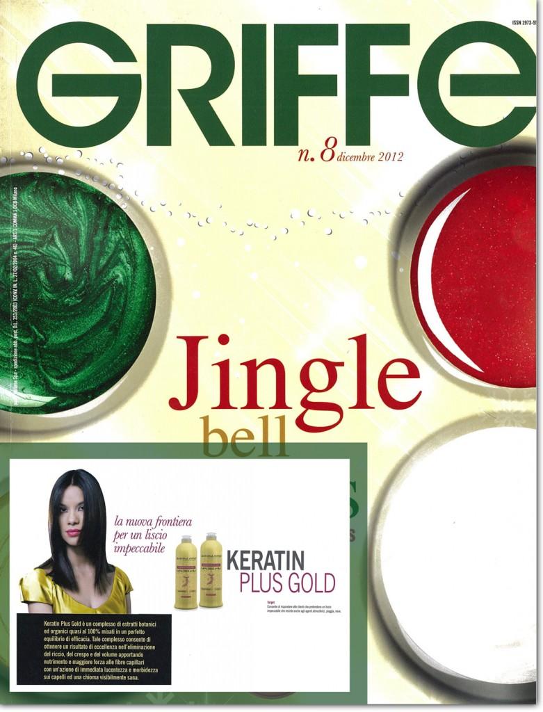 griffe keratin plus gold il trattamento lisciante made in italy