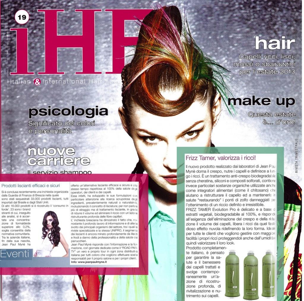 Ihf - il trattamento per capelli anticrespo evolution pro