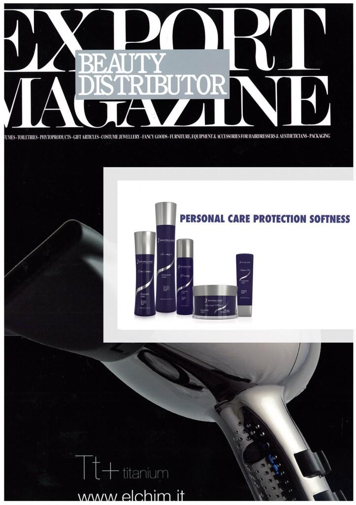 Export Magazine linea personal care - shampoo e balsamo delicati per capelli lisci perfetti