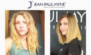 trattamento lisciante platinum prima e dopo
