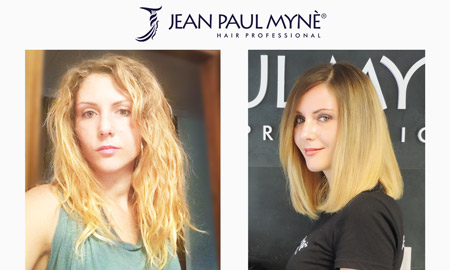 keratin plus platinum before and after