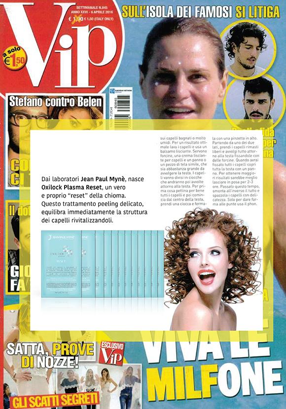 VIP N°845 9 Aprile 2016
