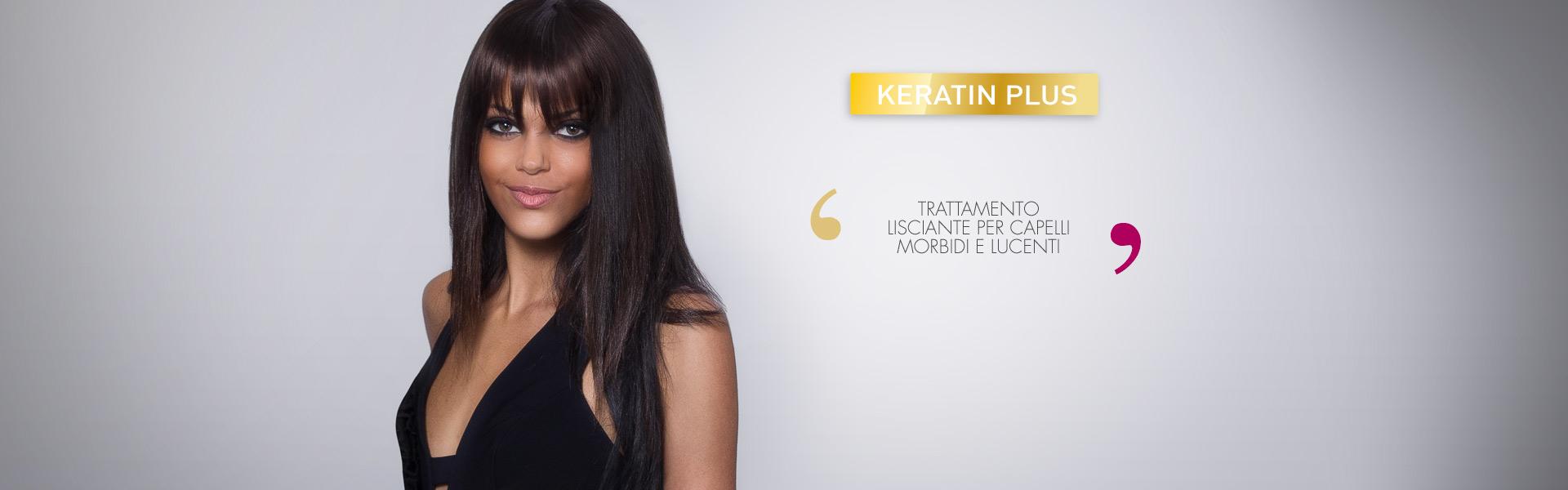 keratin plus trattamento lisciante per capelli afro