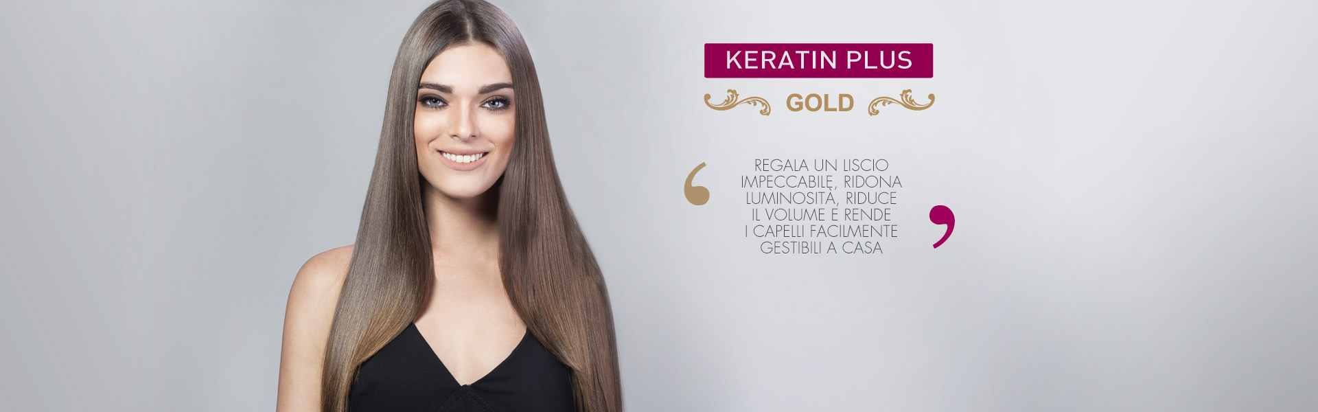 Keratin plus gold lisciante